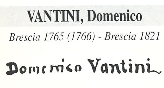 Vantini Domenico 1765 – 1825