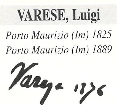 Varese Luigi 1825 – 1899