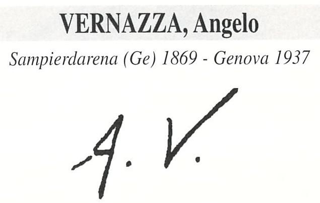 Vernazza Angelo 1869 – 1937