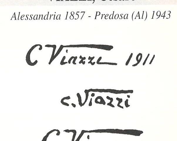 Viazzi Cesare 1857 – 1943
