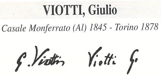 Viotti Giulio 1845 – 1877