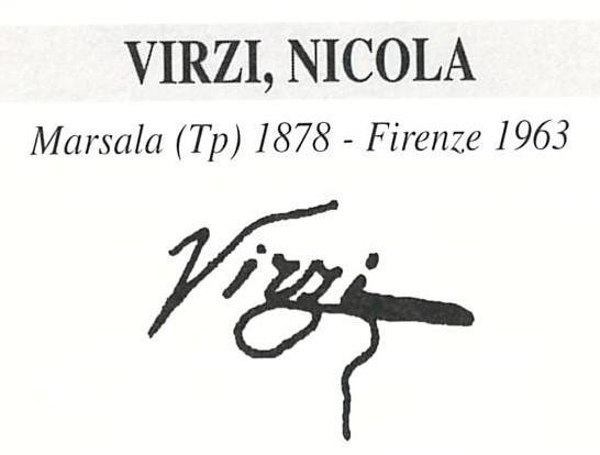 Virzì Nicolò 1878 – 1963