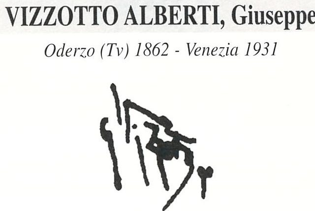 Vizzotto Alberti Giuseppe 1862 – 1931