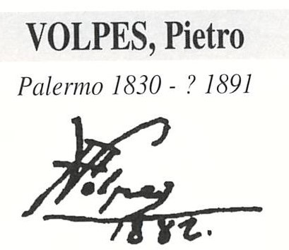 Volpes Pietro 1830 – 1891