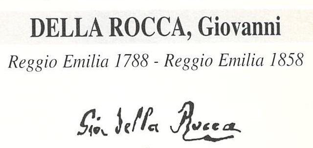 Della Rocca Giovanni 1788 – 1858