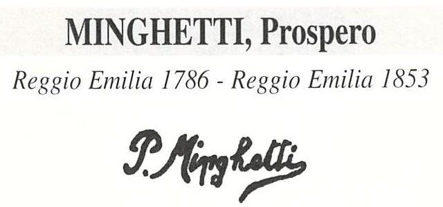 Minghetti Prospero 1818 – 1882
