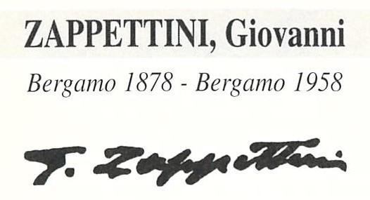 Zappettini Giovanni 1878 – 1958