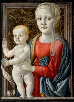 Brera mai vista Pittura di luce a Brera. La Madonna con il Bambino del Maestro di Pratovecchio