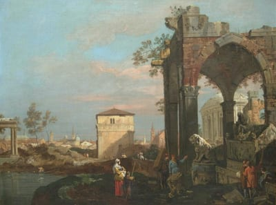 Un capriccio del Canaletto a Maastricht