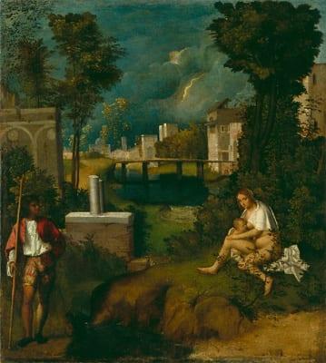 Giorgione a Palazzo Grimani di Venezia