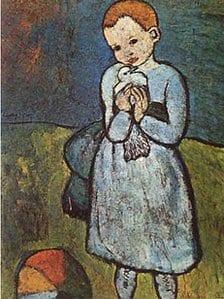 """""""Child With A Dove"""" di Picasso andrà all'asta"""