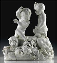 IMPORTANTI PORCELLANE E MAIOLICHE (Collezione di Giampaolo Lukacs)