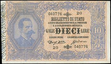 Rare banconote italiane da Zanaria