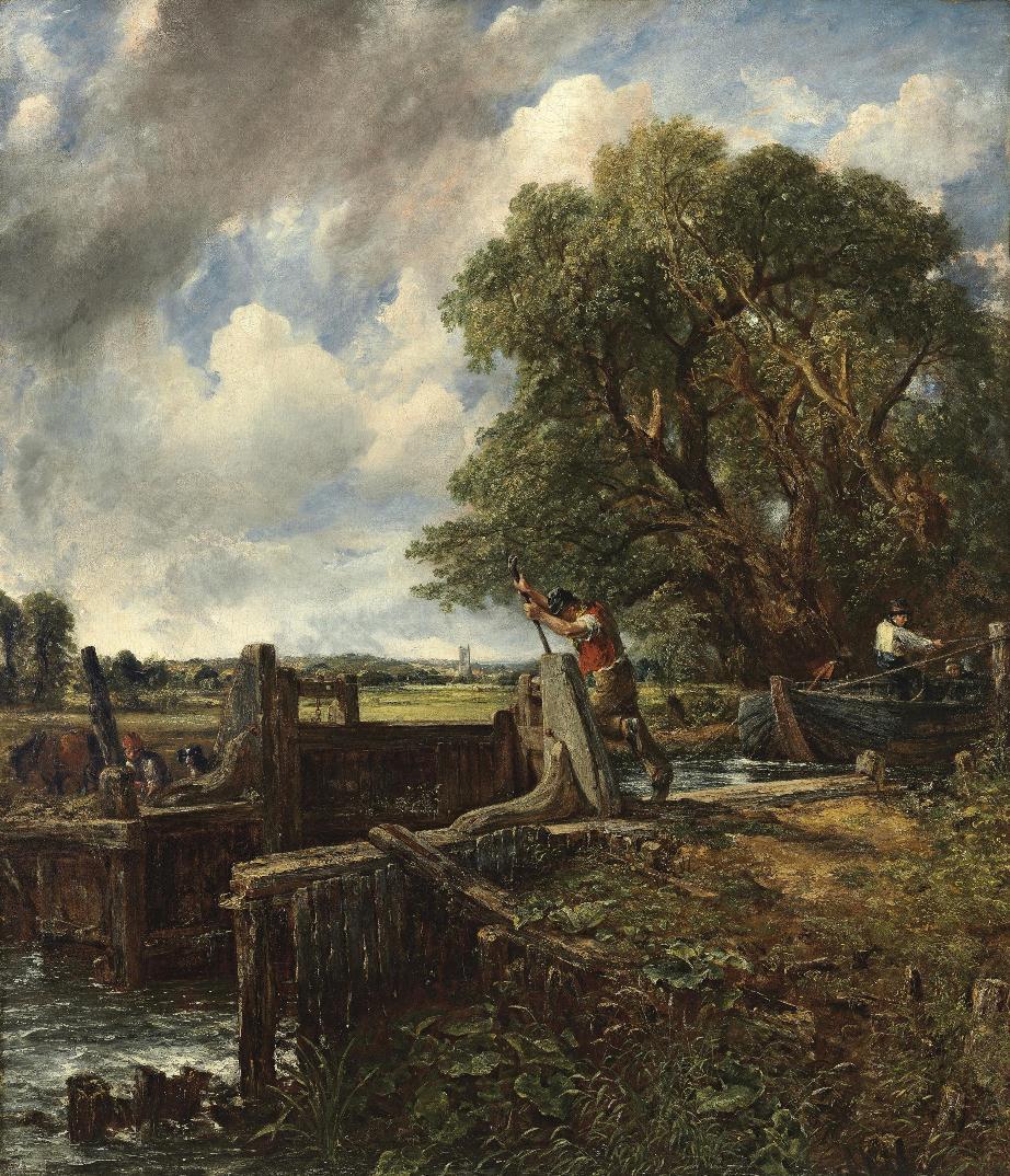 Londra – The Lock di John Constable in asta da Christie's