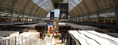 Olympia international and Antiques Fair'