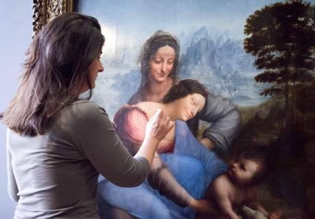 """Louvre, 305 mila per la """"Sant'Anna"""" di Leonardo"""