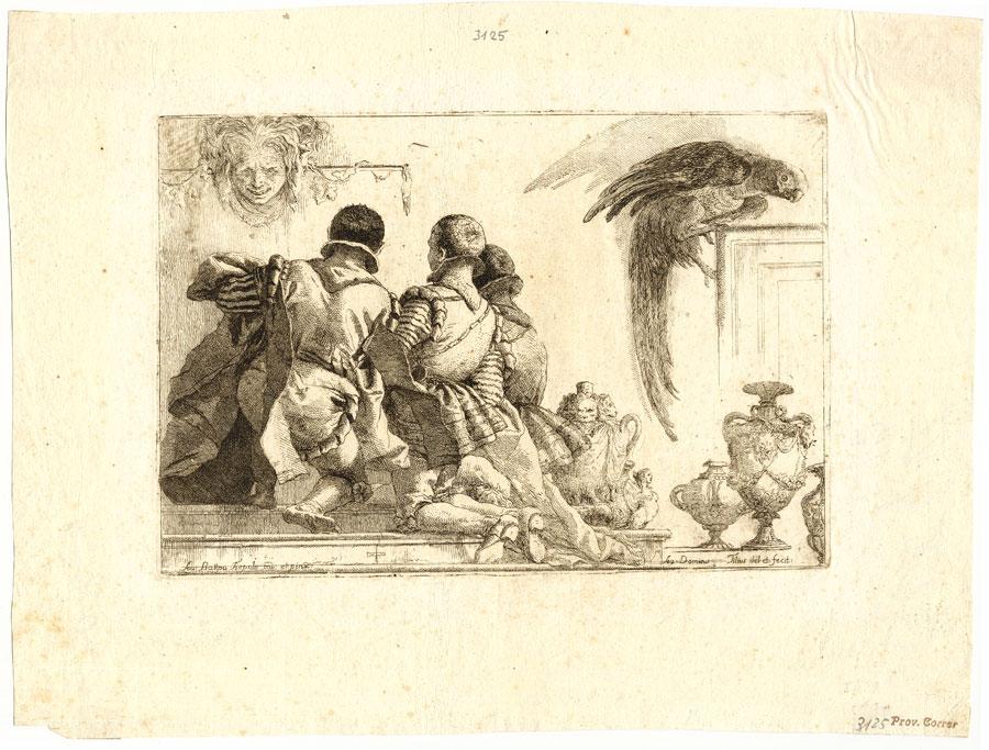 Venezia – Tiepolo nero. Opera grafica e matrici incise