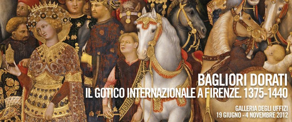 Firenze – Agli Uffizi i bagliori dorati del gotico internazionale