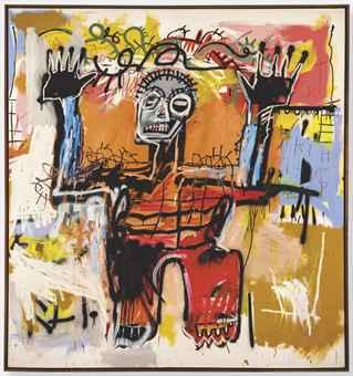 Basquiat contro se stesso