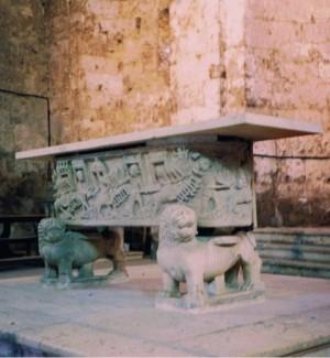 Ritrovato il Sarcofago delle Quadrighe rubato ad Aquino nel '91