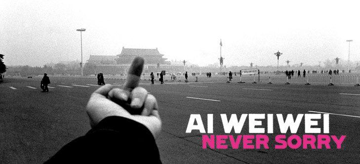 """Lo schermo dell'arte: in anteprima il film """"Ai Weiwei. Never Sorry"""""""