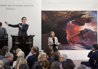 Contemporary London: domina Christie's