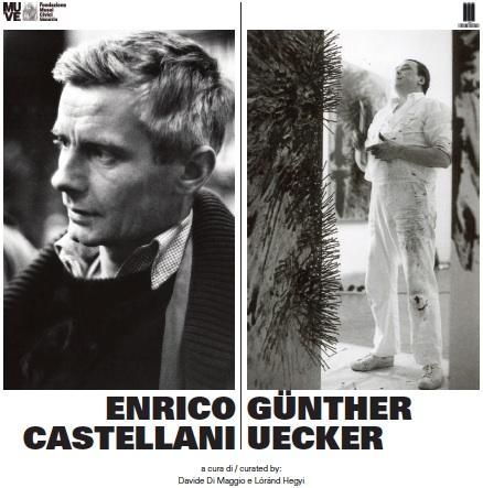 In mostra a Venezia Enrico Castellani/Günther Uecker