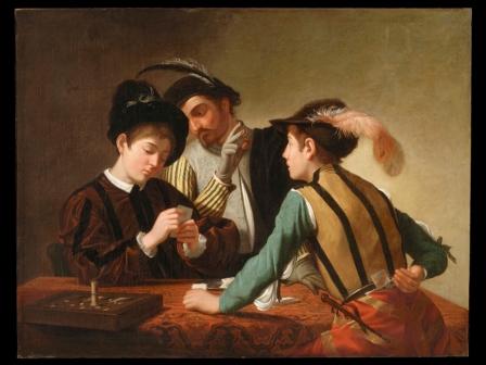 I Bari a confronto. Il giovane Caravaggio nella casa del cardinale Francesco Maria