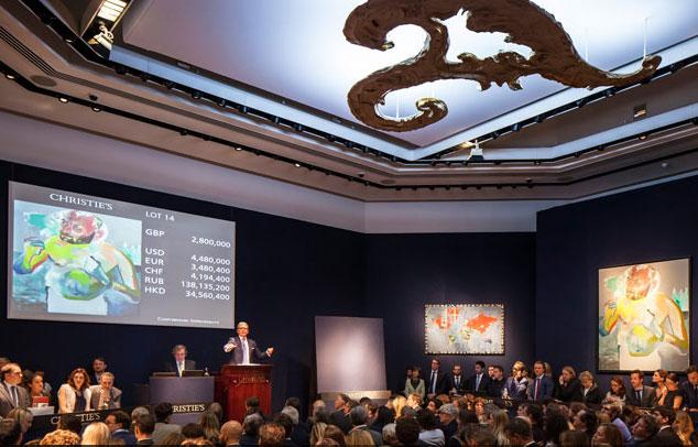 L'arte italiana e Richter brillano nella City