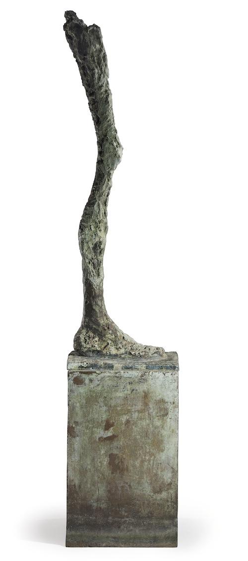 """Da Christie's """"Disembodied Leg"""" di Giacometti"""