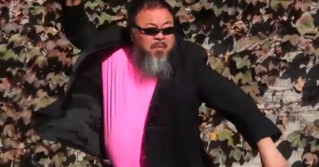 Il video che impazza su youtube: Ai Weiwei balla il Gangnam Style
