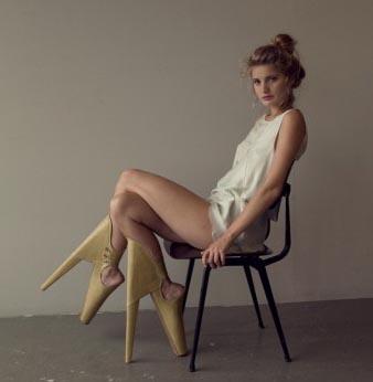 Le scarpe da incubo di Lanie der Vyver