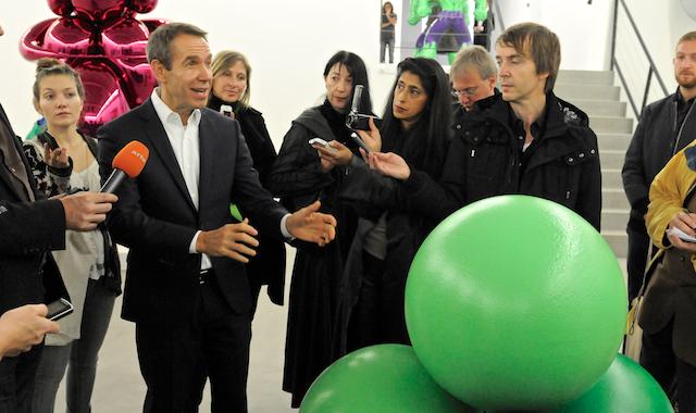 Jeff Koons: mini mostra in Belgio