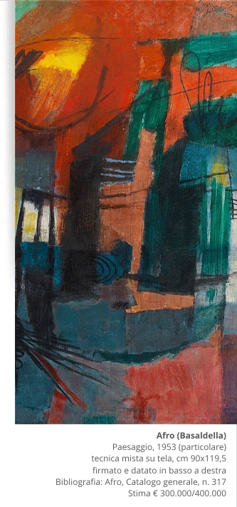 Pandolfini Casa d'Aste: valutazioni per l'asta Arte Moderna e Contemporanea