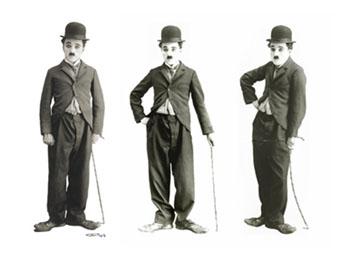 Venduti all'asta cappello e bastone di Charlie Chaplin