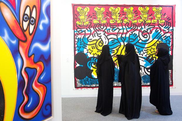 Alla fiera di Abu Dhabi acquisti per Guggenheim