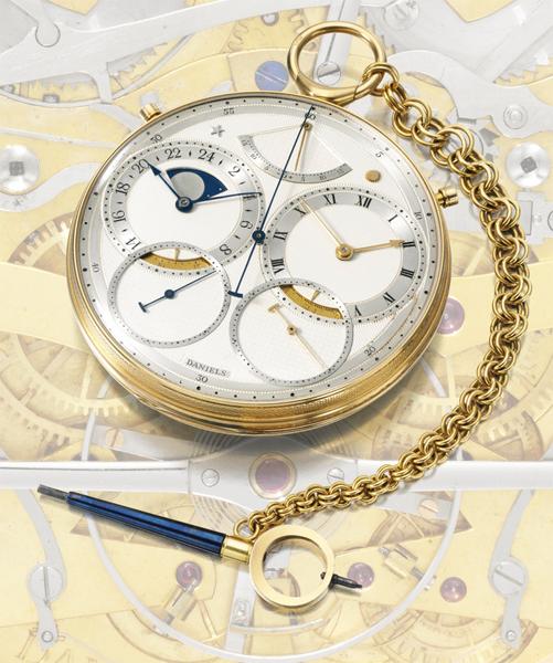 La collezione di orologi di George Daniels