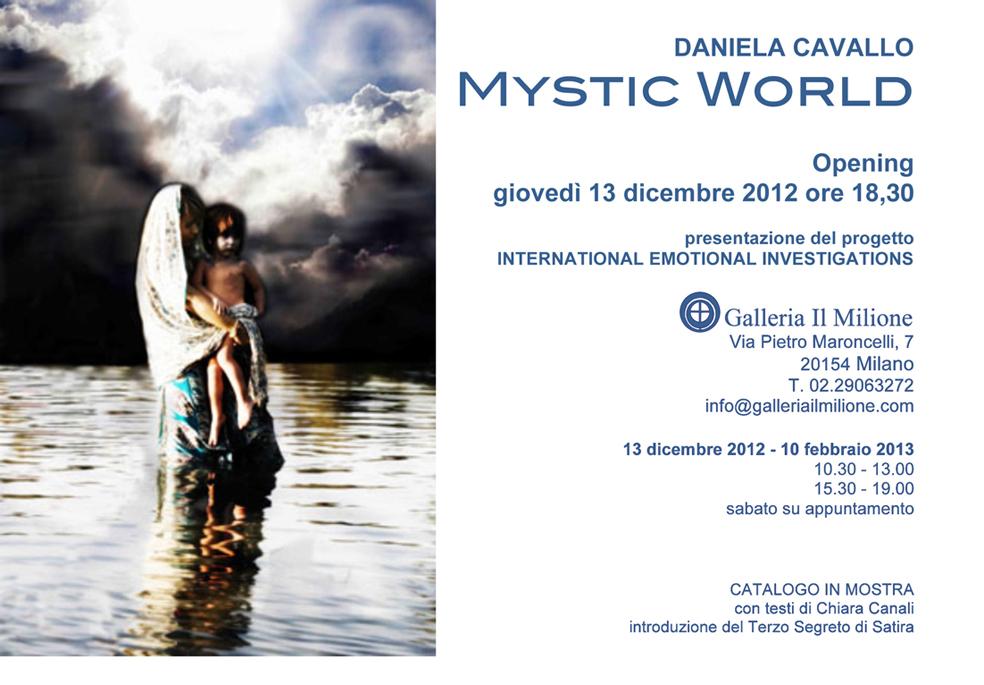 """Inaugurazione di Daniela Cavallo """"Mystic World"""""""