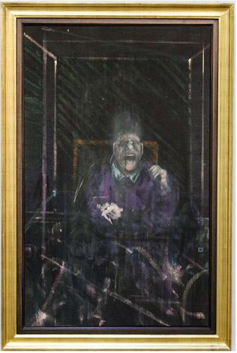 """Un """"Pope"""" di Bacon inedito da 40 anni in asta da Sotheby's"""