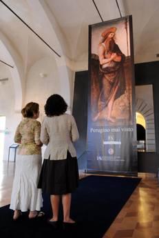 L'Annunciazione Ranieri del Perugino a Perugia