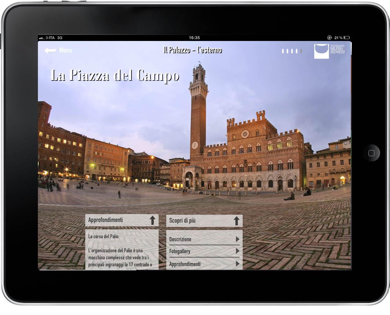 """Ecco la app """"Museo Siena"""""""
