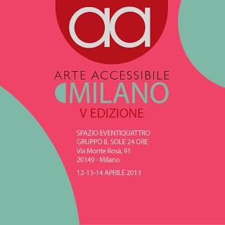 ARTE ACCESSIBILE MILANO 2013