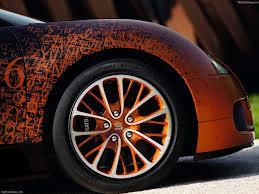 Limited edition Bugatti Veyron Grand Sport by Bernar Venet