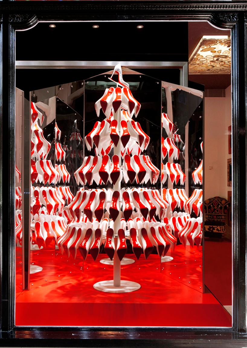 Composizione natalizia by Christian Louboutin