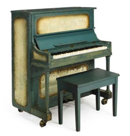 Il pianoforte del film Casablanca aggiudicato a 602.500$