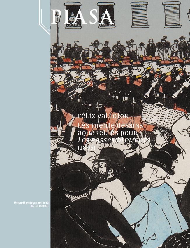 30 disegni di Félix Vallotton in asta da Piasa