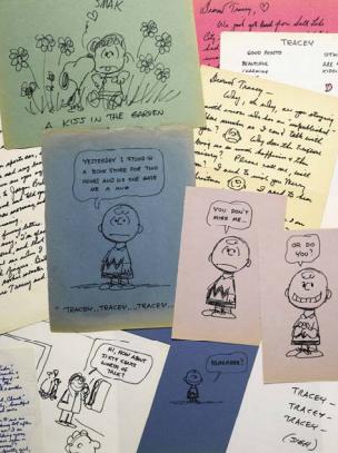 In asta da Sotheby's lettere e disegni di Charles Schulz