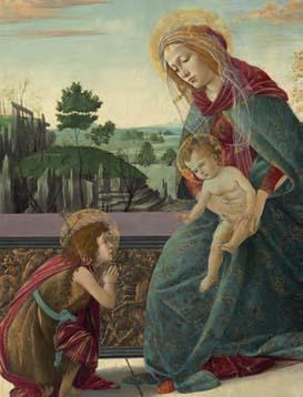 La Madonna con bambino di Botticelli highlight a Mosca