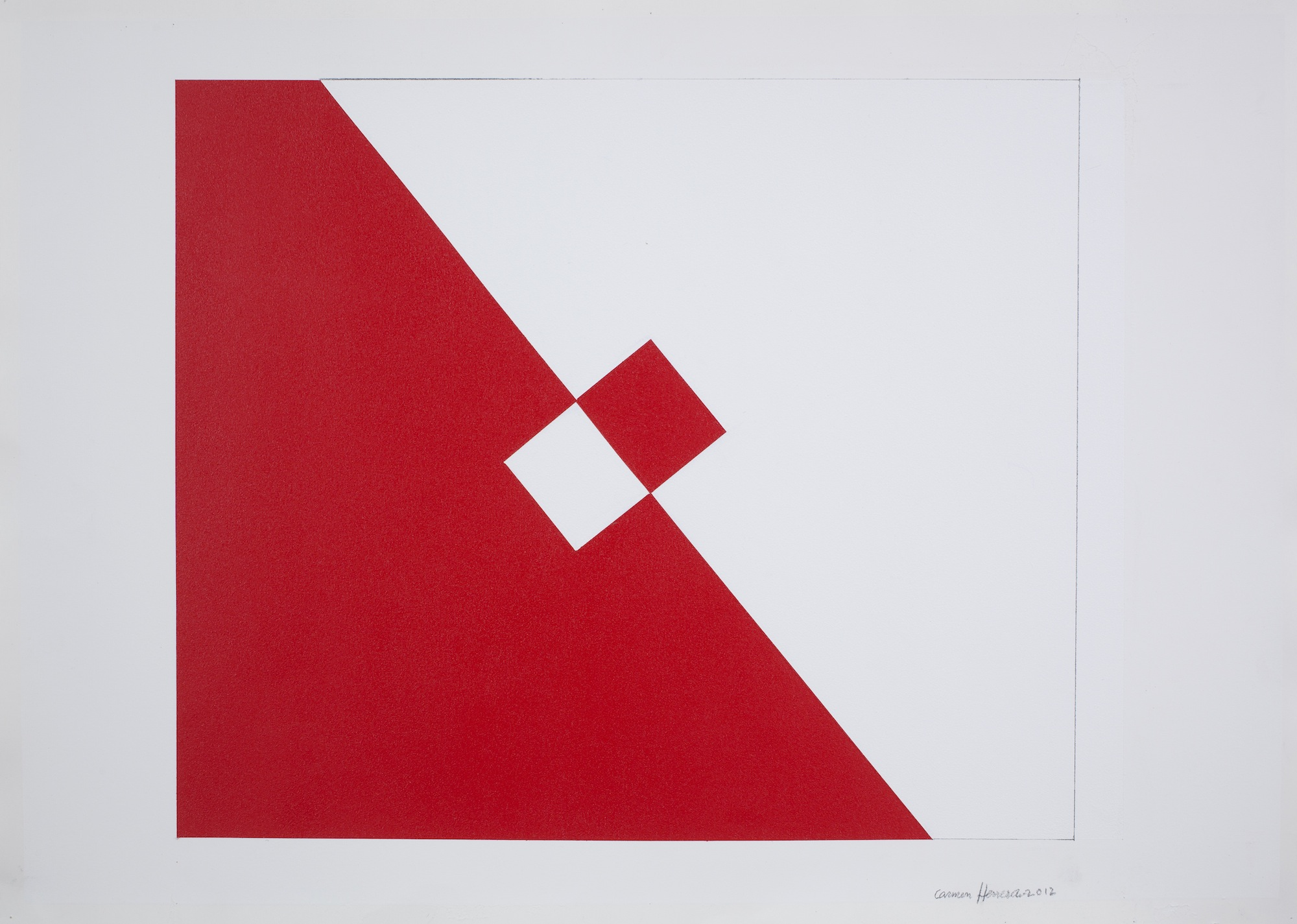 "Alla Lisson Gallery Milan arriva ""CARMEN HERRERA"""