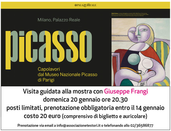 Visita guida a Picasso con Giuseppe Frangi
